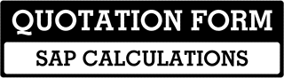SAP Calculations Quote  For Milton Keynes